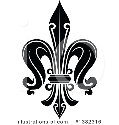 Fleur De Lis Clipart #1382316 by Vector Tradition SM