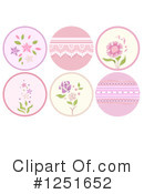 Floral Clipart #1251652 by BNP Design Studio