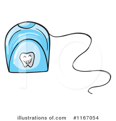 Royalty Free RF Floss Clipart Illustration 1167054 By Graphics