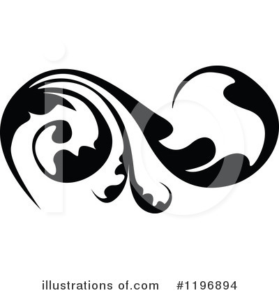 Flourish Clipart #1196894 by dero