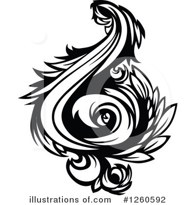 Flourish Clipart #1260592 by Chromaco