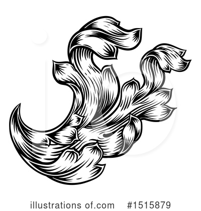 Flourish Clipart #1515879 by AtStockIllustration