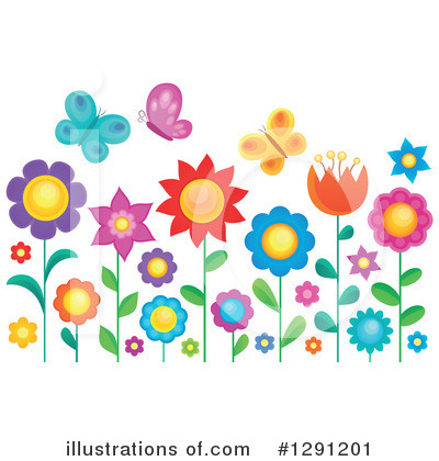 Flower Clipart #1291201 by visekart