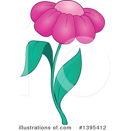 Flower Clipart #1395412 by visekart