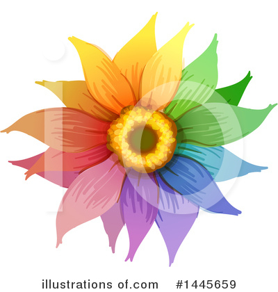 Sunflower Clipart #1445659 by Graphics RF