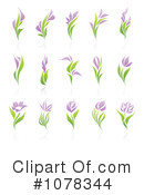 Flowers Clipart #1078344 by elena