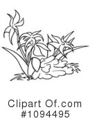 Flowers Clipart #1094495 by dero