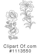 Flowers Clipart #1113550 by Vector Tradition SM