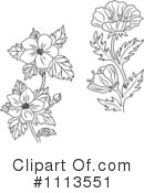 Flowers Clipart #1113551 by Vector Tradition SM