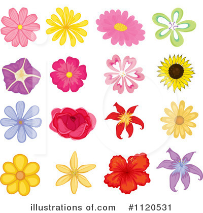 Sunflower Clipart #1120531 by Graphics RF