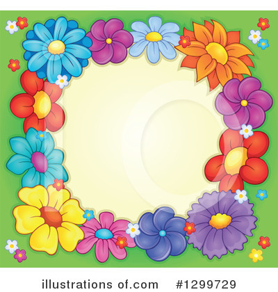 Flower Clipart #1299729 by visekart