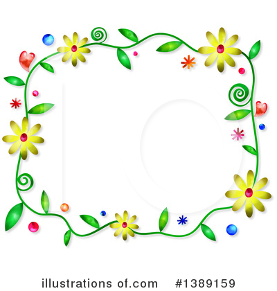 Royalty-Free (RF) Flowers Clipart Illustration by Prawny - Stock Sample #1389159