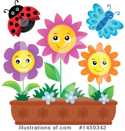 Flower Clipart #1450342 by visekart
