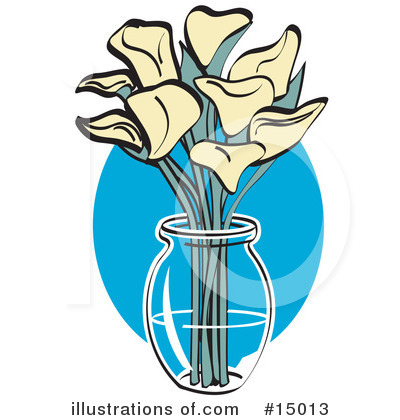 Lilies Clipart #15013 by Andy Nortnik
