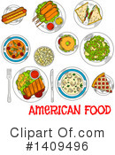 Food Clipart #1409496 by Vector Tradition SM