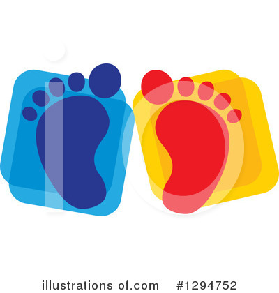 Feet Clipart #1294752 by ColorMagic