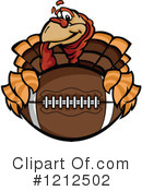 Football Clipart #1212502 by Chromaco