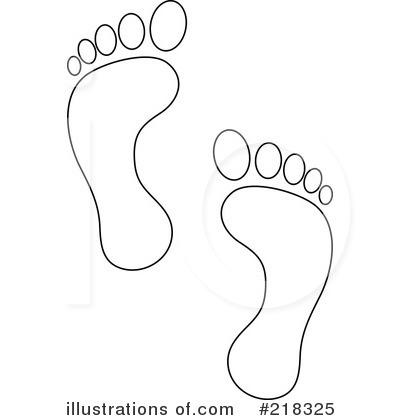 footprints clipart #218325 - illustrationpams clipart