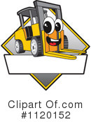 Forklift Clipart #1120152 by Toons4Biz