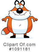 Fox Clipart #1091181 by Cory Thoman