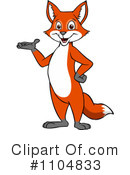 Fox Clipart #1104833 by Cartoon Solutions