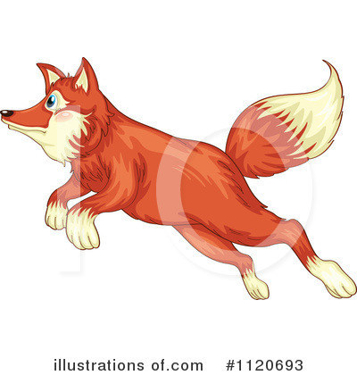 Fox Clipart #1120693 by Graphics RF