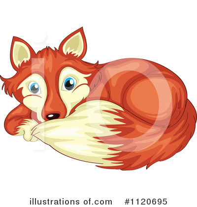 Fox Clipart #1120695 by Graphics RF