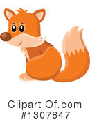 Fox Clipart #1307847 by visekart