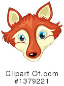 Fox Clipart #1379221 by Graphics RF