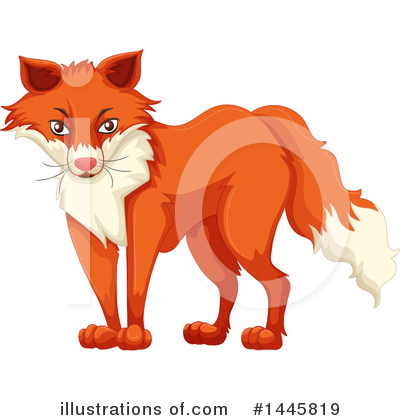 Fox Clipart #1445819 by Graphics RF
