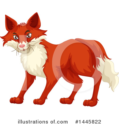 Fox Clipart #1445822 by Graphics RF