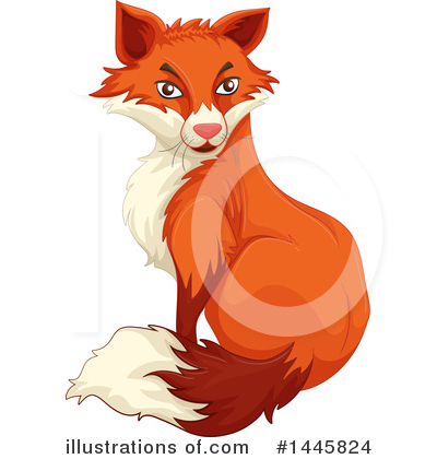 Fox Clipart #1445824 by Graphics RF