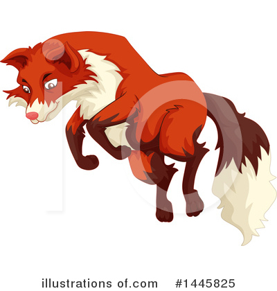 Fox Clipart #1445825 by Graphics RF