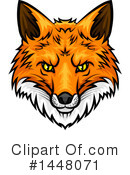 Fox Clipart #1448071 by Vector Tradition SM