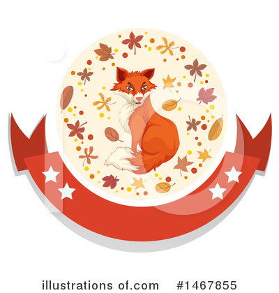 Fox Clipart #1467855 by Graphics RF