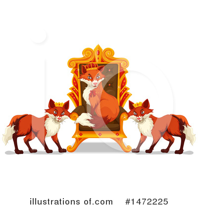 Fox Clipart #1472225 by Graphics RF