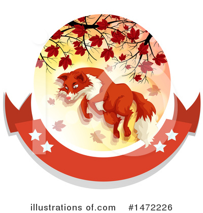 Fox Clipart #1472226 by Graphics RF