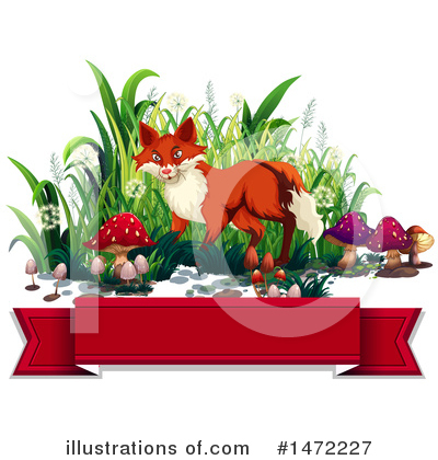 Fox Clipart #1472227 by Graphics RF