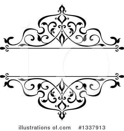Flourish Clipart #1337913 by Vector Tradition SM