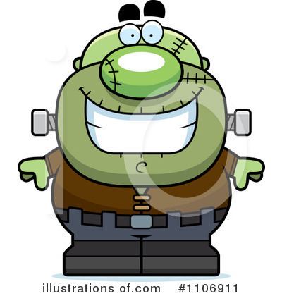 Frankenstein Clipart #1106911 by Cory Thoman