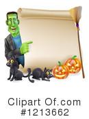 Frankenstein Clipart #1208645 - Illustration by AtStockIllustration