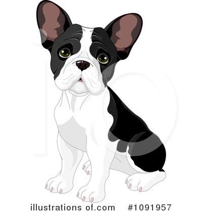 French Bulldog Clipart 1091957 Illustration By Pushkin