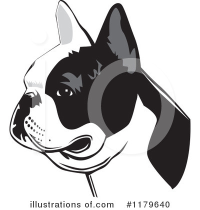 Royalty-Free (RF) French Bulldog Clipart Illustration by David Rey - Stock Sample #1179640