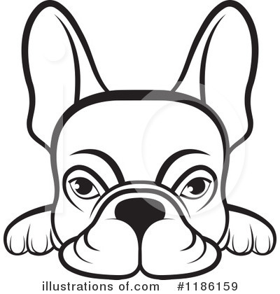 Frenchie Clipart 1186159 Illustration By Lal Perera