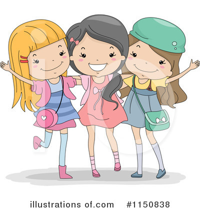Girl Clipart #1150838 by BNP Design Studio