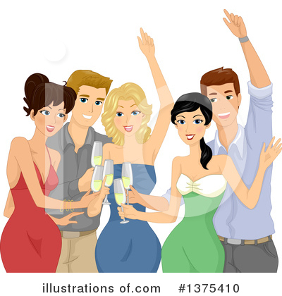 Cheers Clipart #1375410 by BNP Design Studio