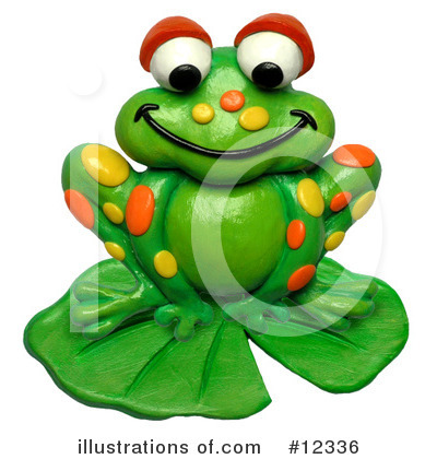 Frog Clipart #12336 by Amy Vangsgard