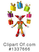 Funky Clown Clipart #1337666 by Julos