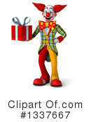 Funky Clown Clipart #1337667 by Julos