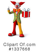 Funky Clown Clipart #1337668 by Julos